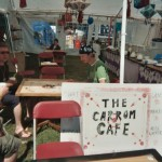 The Carrom Cafe in the sunshine.