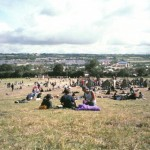 The view from the stone circle on a chilled afternoon. I fell asleep here shortly afterwards and got badly sunburned.
