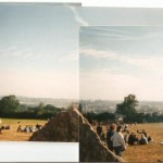 Poor quality- but a panoramic view from the Stone Circle (disposable camera!) :)