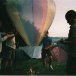 Our hot air balloon
