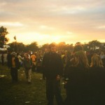 Sunset in the Jazz field