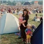 My first glasto at 9 months old!