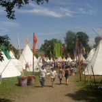 The Tipi Field.