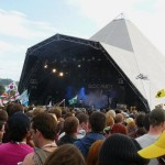 Bloc Party on The Pyramid Stage.
