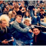 Esther, Tim & Martin White, Saturday 21 June 1986