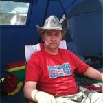 Me & my tent.