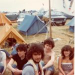 My first Glastonbury. Still going 35 years later.