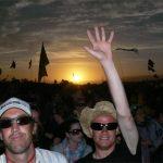 Australian sunset photo-bombers
