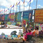 Banjo Stage banners by Jonny Brush