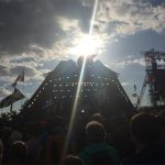 Pyramid sun