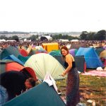 Camping in The Other Stage field. It was called the NME Stage back then. None of my mates had a ticket (I think I am the only person to buy one that year?) and I'm pretty sure they just drove in in their car. Security wasn't what it is today. Haha.