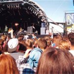 Charlatans on the NME Stage (Where the Other Stage is now). Look how small it is compared to the beast there today!