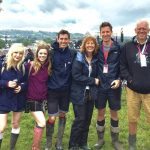 The Rowles family does Glastonbury