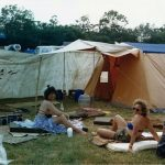 Camping at West Holts