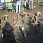 Where wellies go to die - Wellyhenge