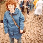 Me in the mud - my first Glastonbury!