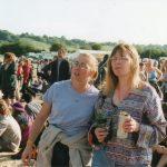 Debbie & Gina at Glastonbury