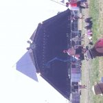 Pyramid stage getting dressed