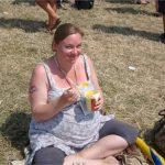 Enjoying ice cream, 35w pregnant