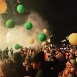 Bloons galore at the chemical brothers